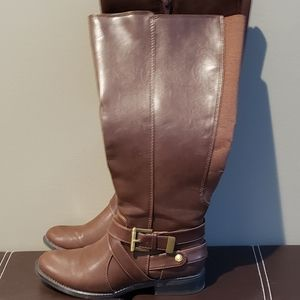Life Stride Tall Boots, Brown, 5.5 WC